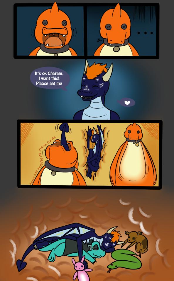 Stuffed: Part 6 - by cRAWRamel