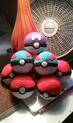 Plush Pokeballs