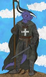 Draselth the Knight Hospitalier [Coloured]