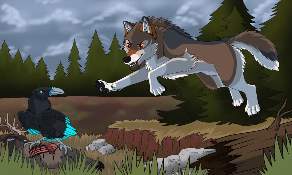 Hunter and Scavenger