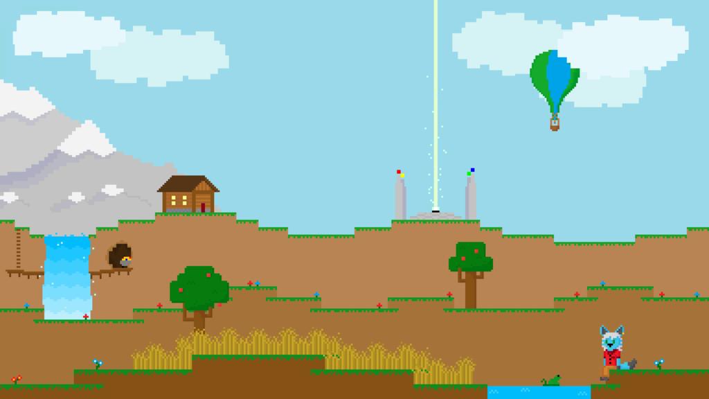 World of Blocks (Desktop Wallpaper)