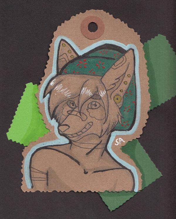 Elixa Scrapbook Badge