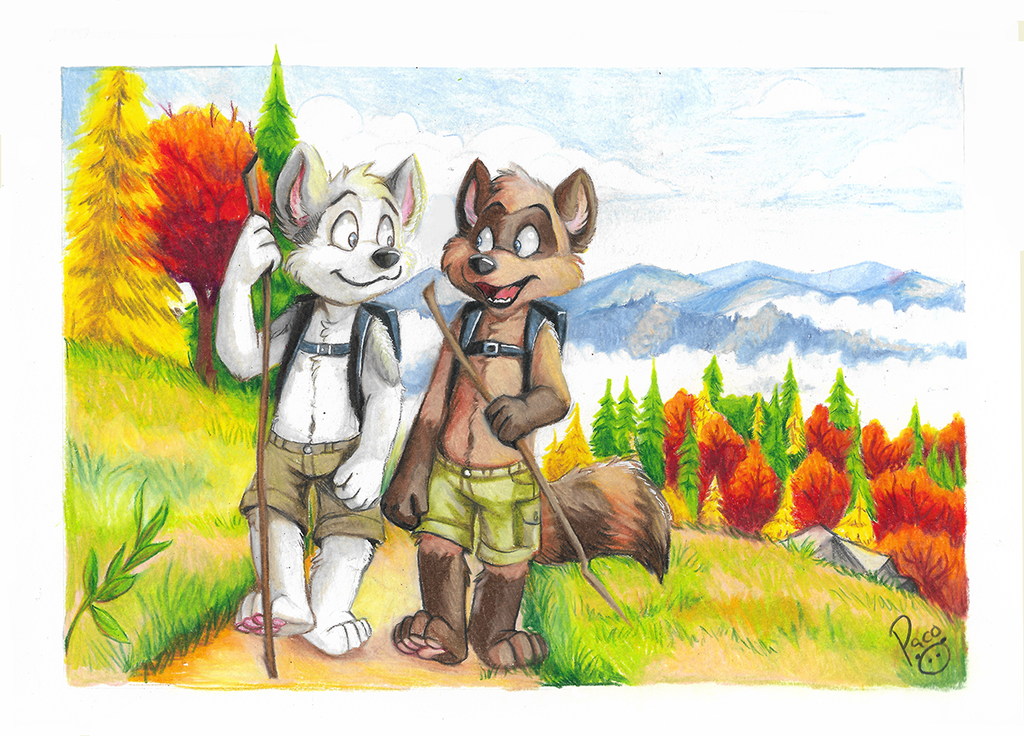 Hiking Autumn