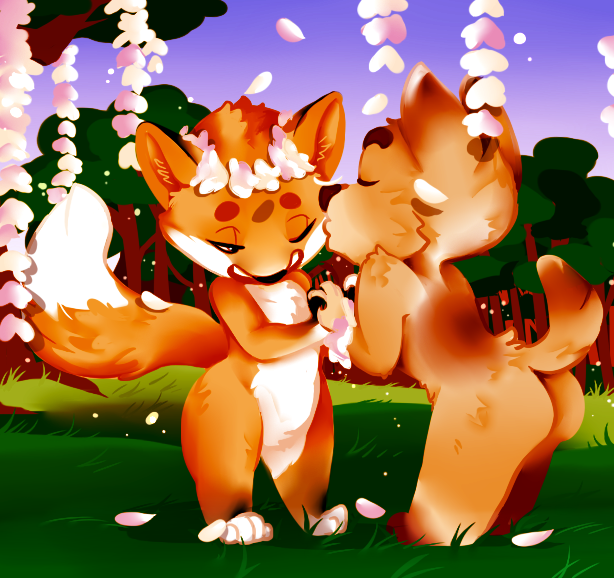 Flowers and Fireflies