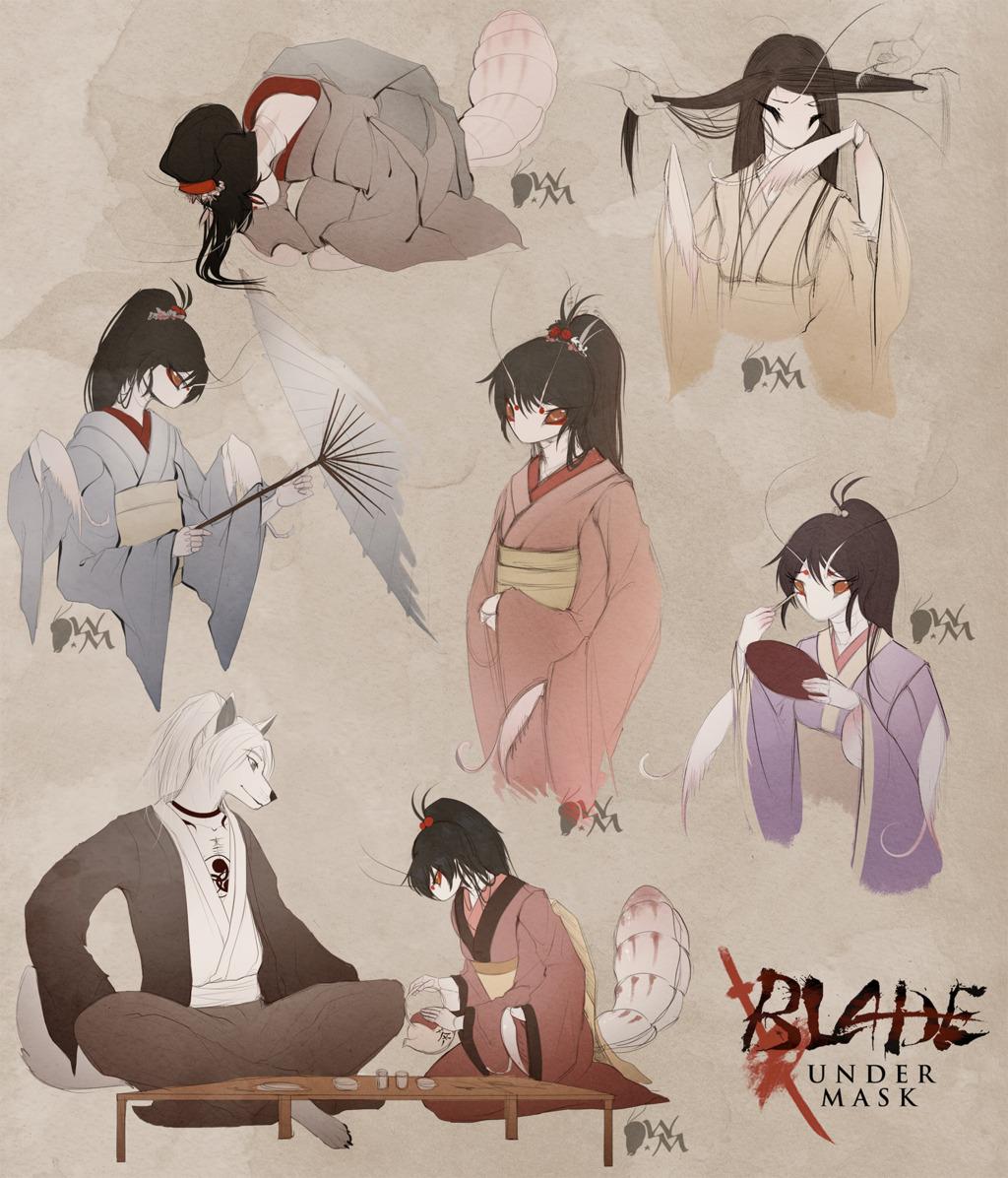 Blade Under Mask: Everyday Life