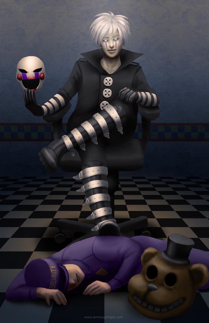 Fnaf puppet human fnaf human puppet weasyl