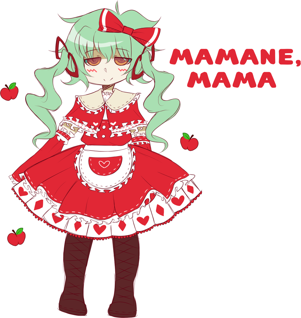 [UTAU Redesign] Mamane, Mama