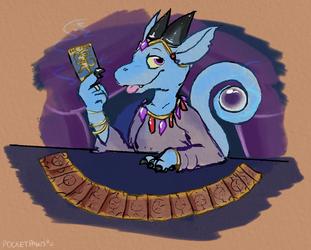 Drawlloween #9 - Tarot 🔮