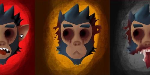 Three Mystic Monkeys