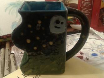Moon cup ceramic