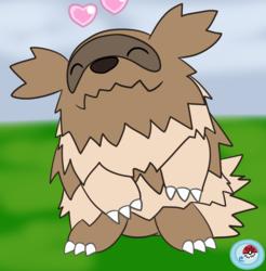 Zigzagoon in Pokémon-amie