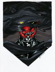 Inktober #9: Cheshire Hound