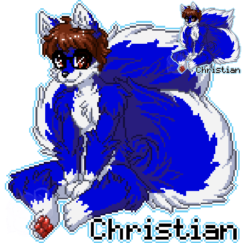 MFF Pixel Badge: Christian