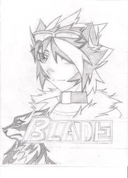 Tribal Trinity: Blade Vermilion Headshot