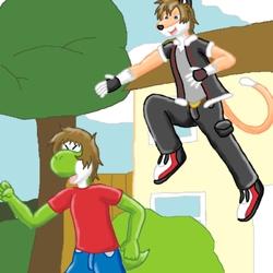 Attack on Yoshi