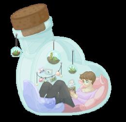 Sonoko In A Bottle