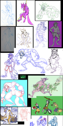 (OLD Doodle Tower) 2010 - 2013 Anthros
