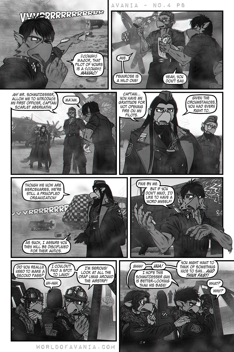 Avania Comic - Issue No.4, Page 8