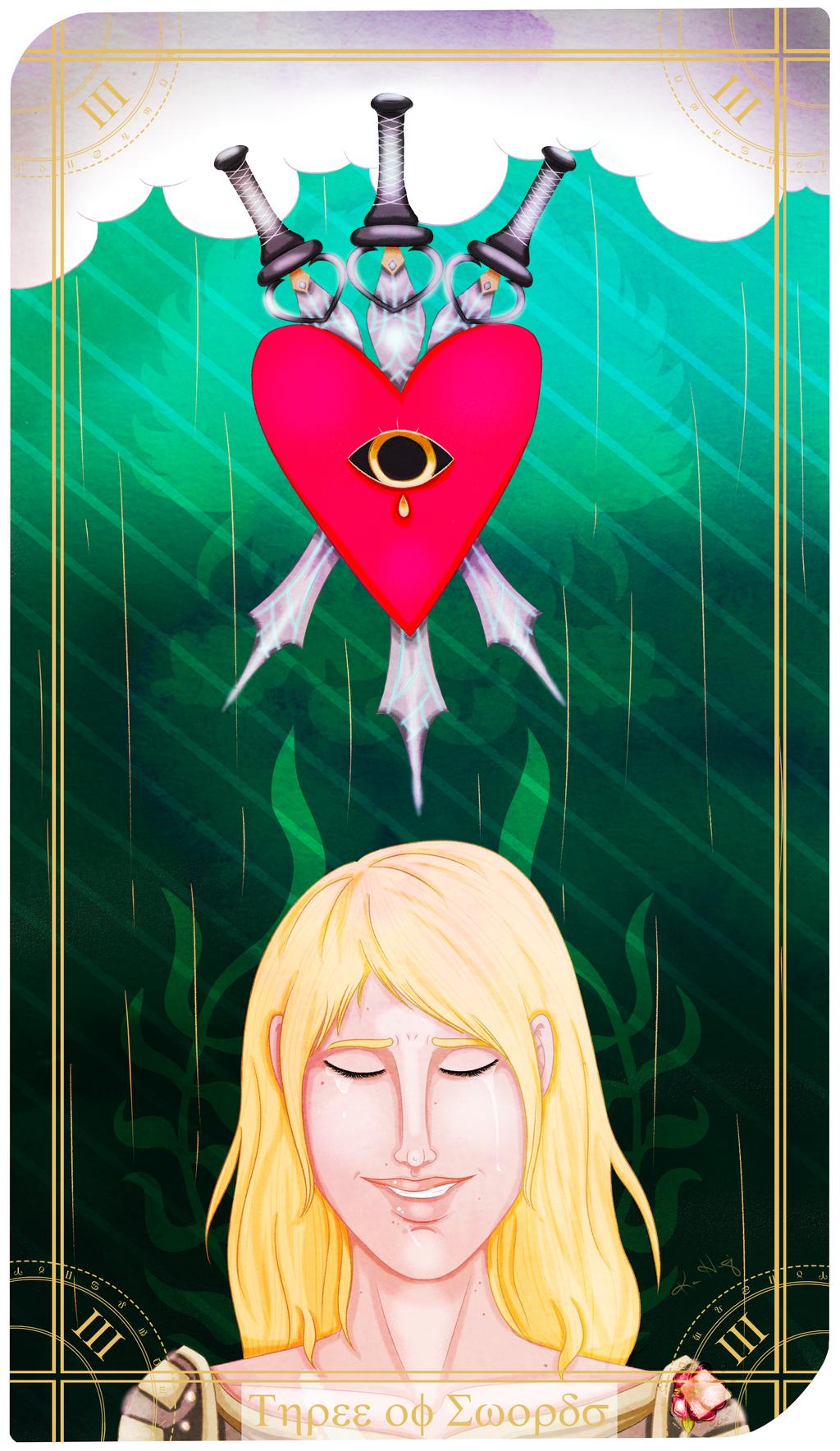 Drawlloween '20 - #23 Tarot Card