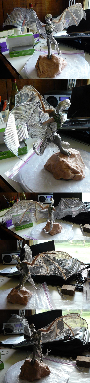Romanian Three-Tail Sculpt - WIP