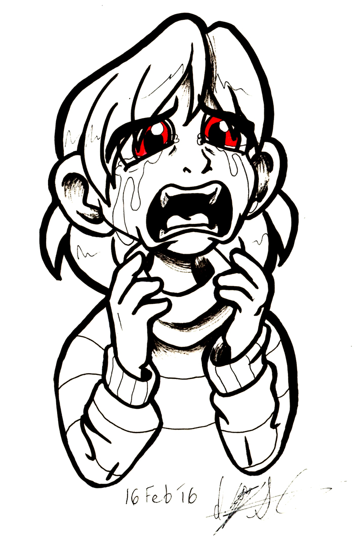 Undertale [SPOILERS]: Crying Chara
