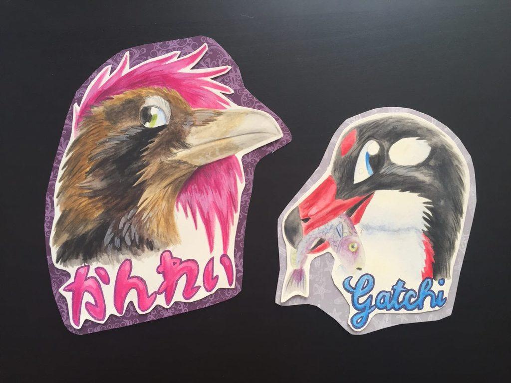 Most recent image: Bird-Badges Kanrei, Gatchi