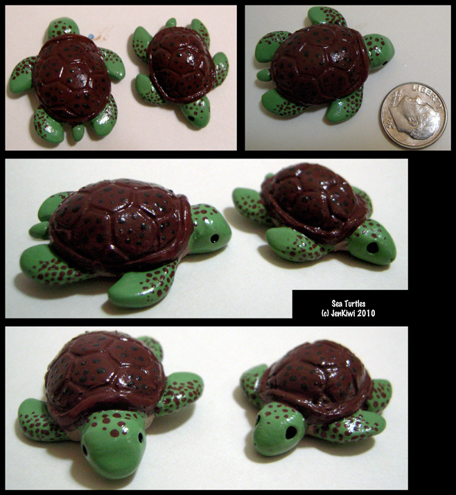 Gumdrop Sea Turtles