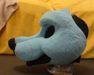 Toony Canine Foam Head Base