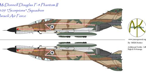 105 Squadron Phantom