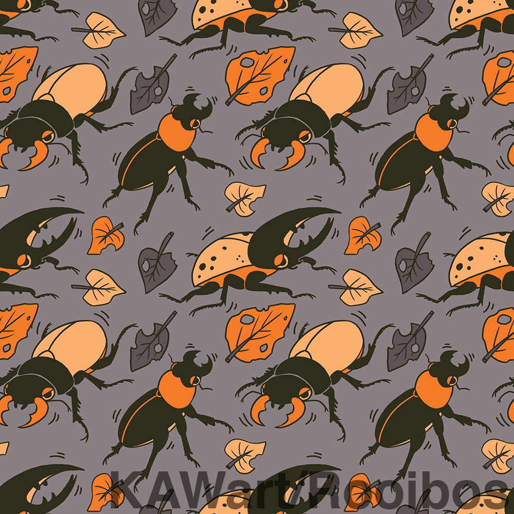 Autumn Beetle Background