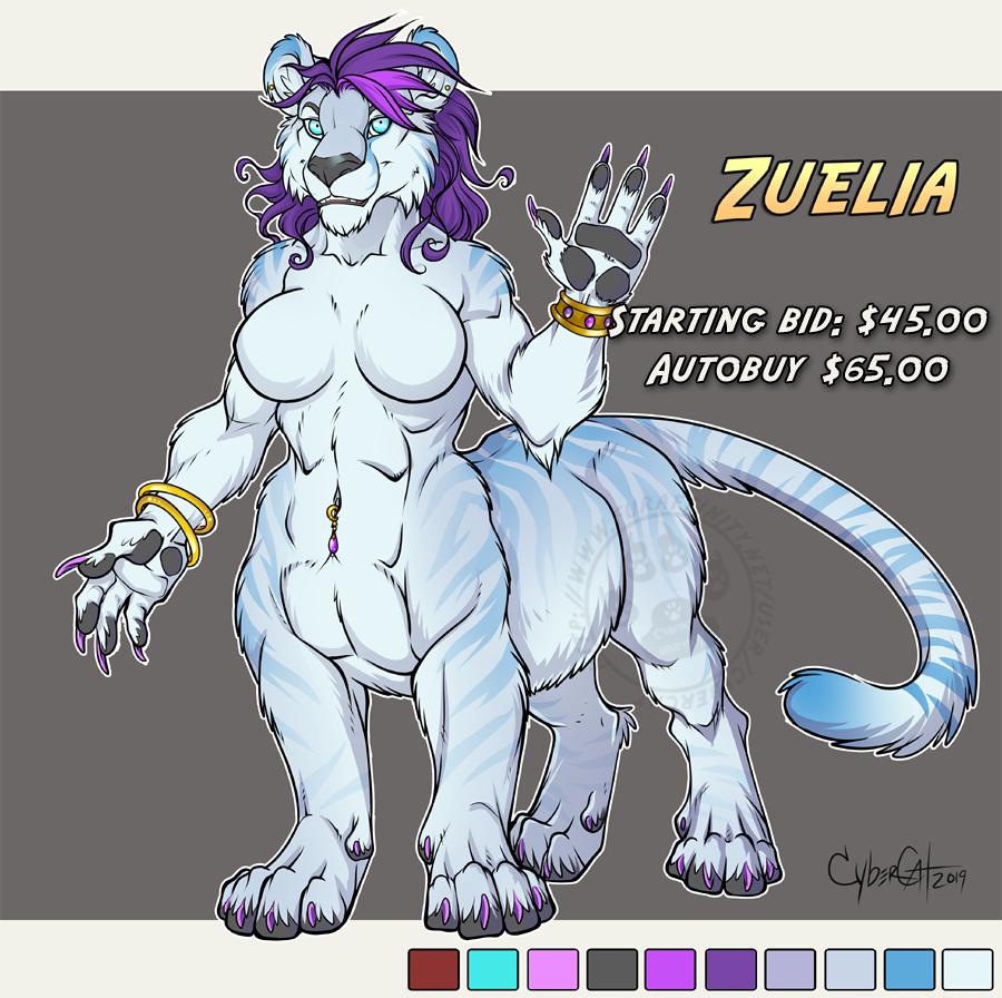 Zuelia Adoptable Cat-Taur Starting bid $45