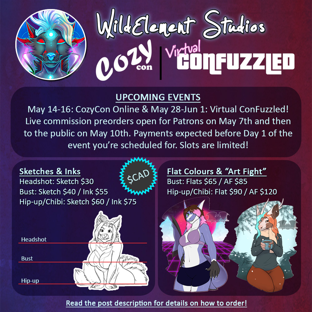 Live Event Commissions: OPEN!