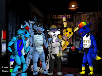 Five Nights At Freddy's YCH