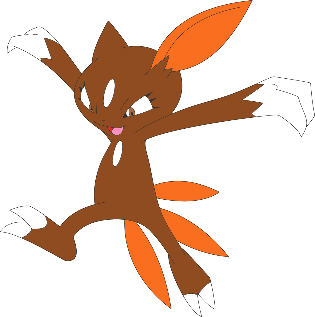 Most recent image: Edward The Sneasel Redone