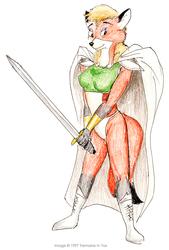 (1997) Sandy Vixen as Celes