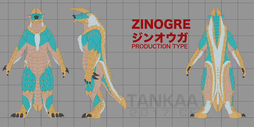 Zinogre v6 - Production Type