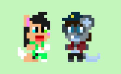 Sondre and Mukiro Pixels