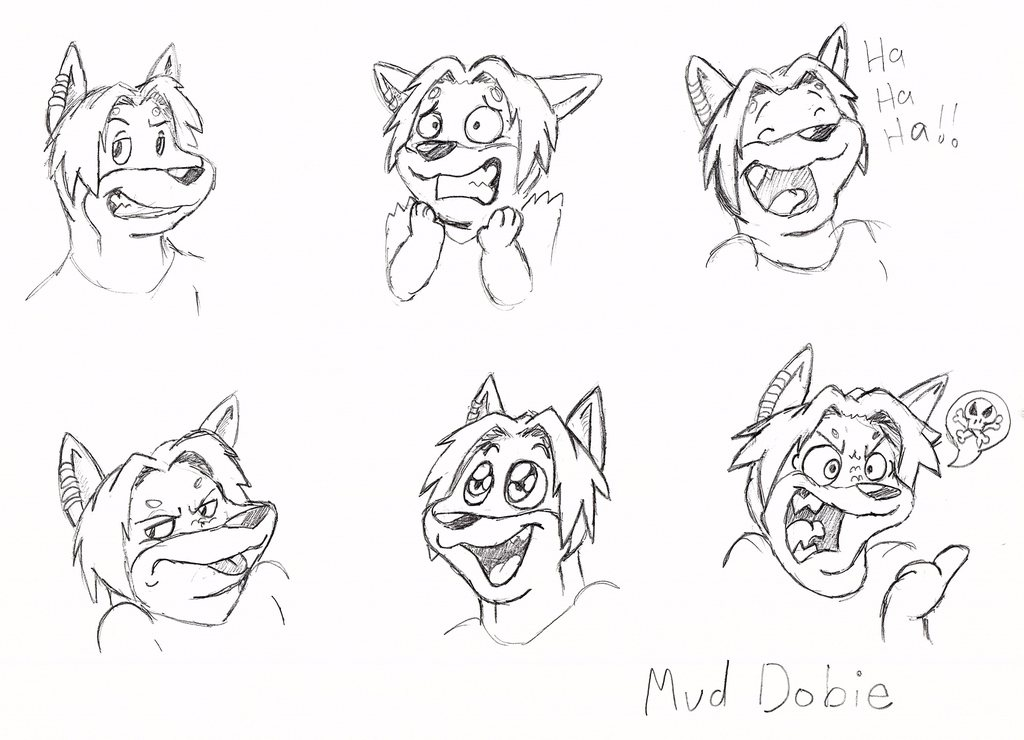 [commission] Mud Expression Sheet