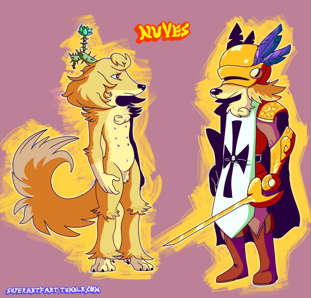 Floraverse- Golden Guard Nuves