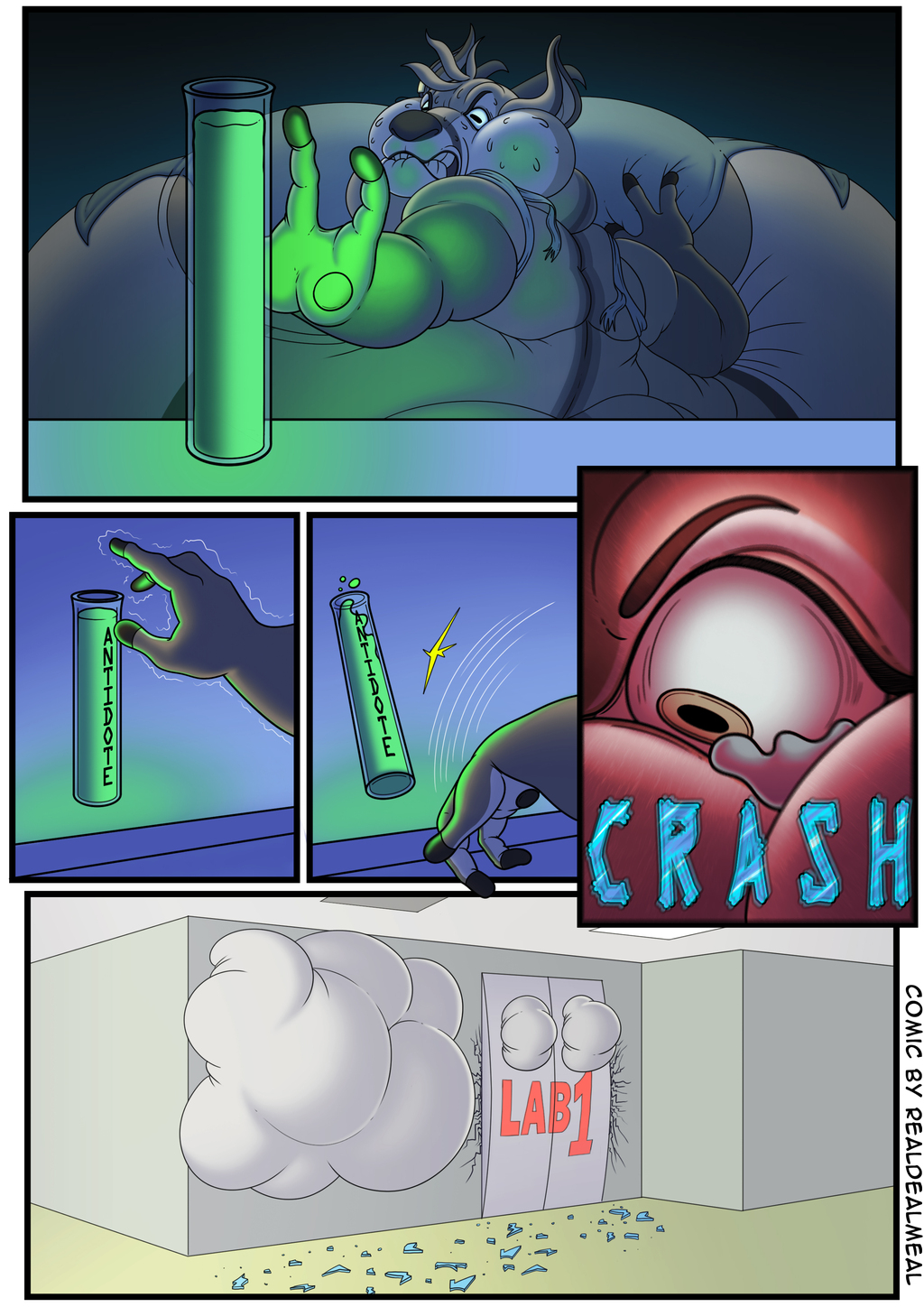Most recent image: Short-terms side effects - P6