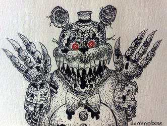 Inktober 9 - Nightmare