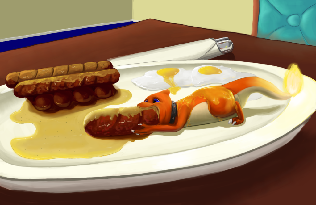 Charem, Part of a Balanced Breakfast! - by imperfectflame