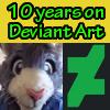 Ten years on Deviant Art (Top 10 favorite drawings)