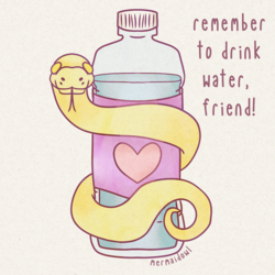 Reminder Noodle: Drink Your Water!