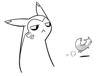 Furret Runs Away