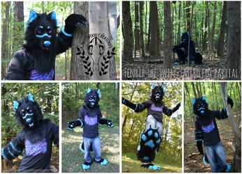 [//Commission] Fenrir the Two-Tailed Fox Partial