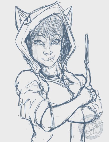 A Girl Sketch