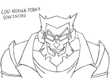 Lou - Human Form 3