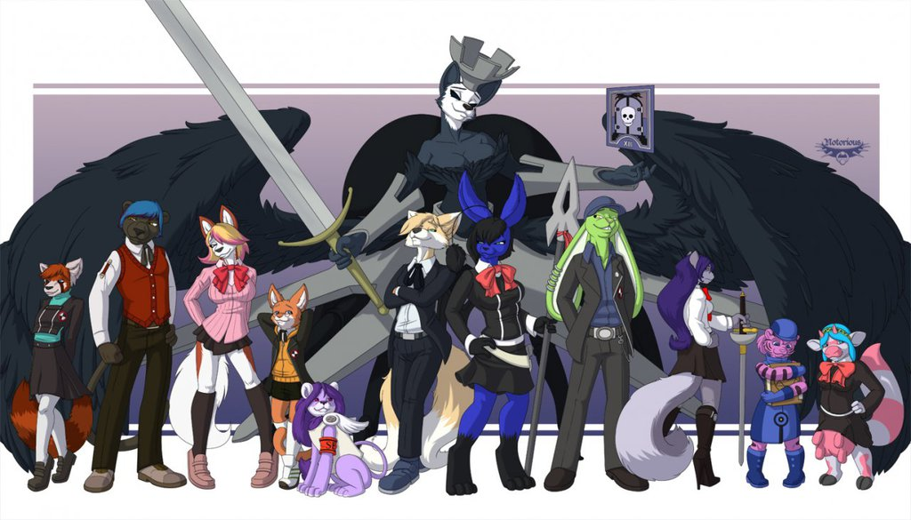 Most recent image: Persona Furry Style