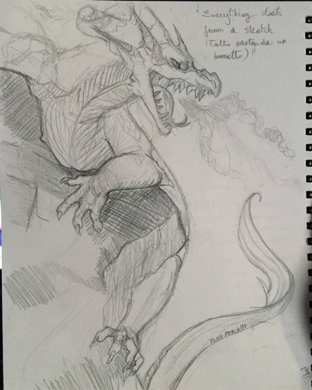 Big Bad Dragon [Sketch]